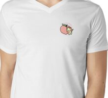 Peaches Mens V-Neck T-Shirt