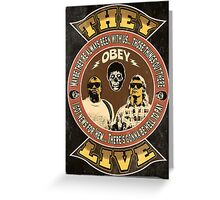 They Live Vintage Greeting Card