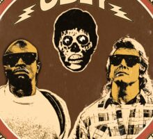 They Live Vintage Sticker