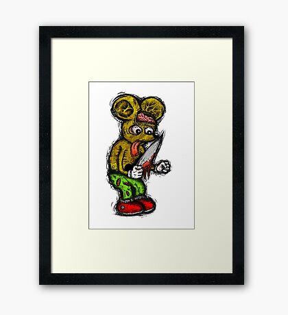 Morbid Mouse Framed Print