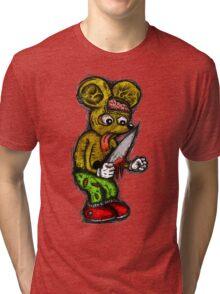 Morbid Mouse Tri-blend T-Shirt