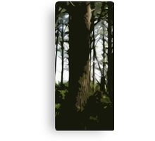 Forest (Middle) Canvas Print