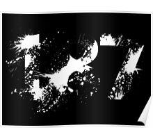 187 (White) Poster