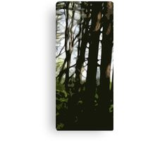 Forest (Left) Canvas Print