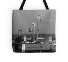 Lincoln, Nebraska - Trucks, Gas and Motels Tote Bag
