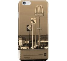 Lincoln, Nebraska - Trucks, Gas and Motels iPhone Case/Skin