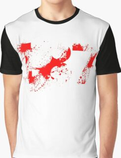 187 (Red) Graphic T-Shirt