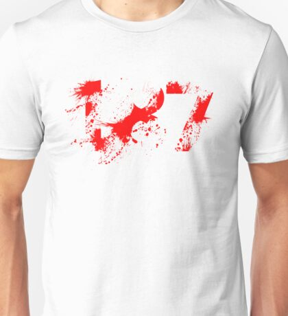 187 (Red) Unisex T-Shirt
