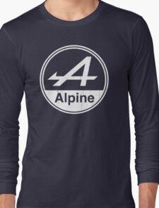 Alpine White Vintage Graphic Long Sleeve T-Shirt