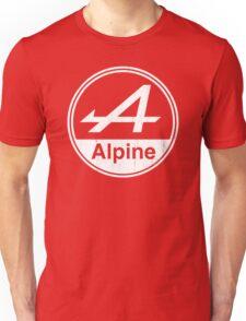 Alpine White Vintage Graphic Unisex T-Shirt
