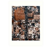 NEW YORK VII Art Print