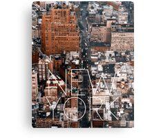 NEW YORK VII Metal Print