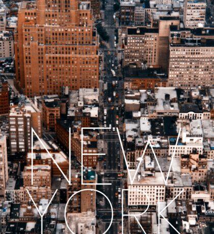 NEW YORK VII Sticker