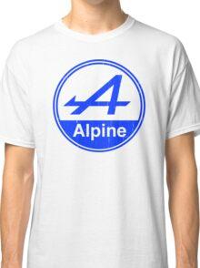 Alpine Blue Vintage Graphic Classic T-Shirt