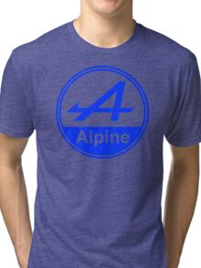 Alpine Blue Vintage Graphic Tri-blend T-Shirt