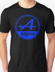 Alpine Blue Vintage Graphic Unisex T-Shirt