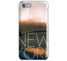 NEW YORK VIII iPhone Case/Skin
