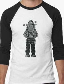 Robby the Robot Men's Baseball ¾ T-Shirt