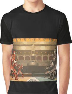 Minimalistic Pro-Bending Graphic T-Shirt