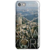 NEW YORK IX iPhone Case/Skin