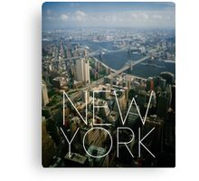 NEW YORK IX Canvas Print
