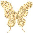 Orange Butterfly by Rachel Bachman