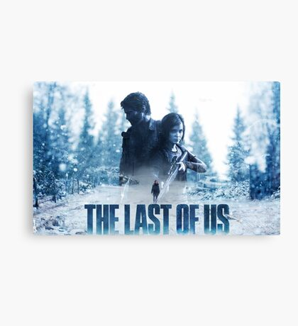 "The Last Of Us ""Cold Winter"" Canvas Print"