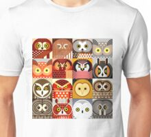 North American Owls Unisex T-Shirt