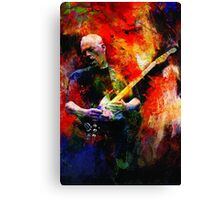DAVID GILMOUR FULL COLOR Canvas Print
