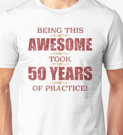Awesome 50th Birthday Unisex T-Shirt