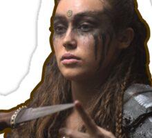 Lexa - I fight like a girl Sticker