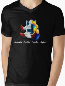 Mach Punk Mens V-Neck T-Shirt