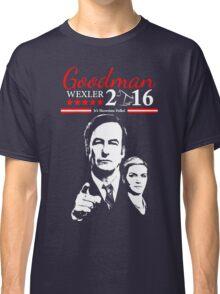 GOODMAN WEXLER 2016 It's Showtime Folks! Better Call Saul Classic T-Shirt