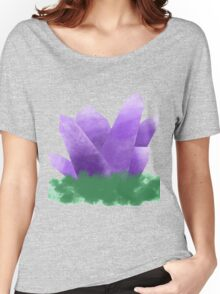 violet crystal fantasy  Women's Relaxed Fit T-Shirt