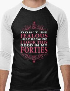 Dont' Be Jealous - 40s Men's Baseball ¾ T-Shirt