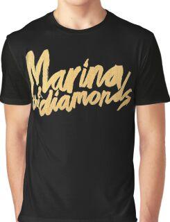 M Logo Gold Graphic T-Shirt