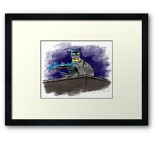 Kitty of the Night Framed Print