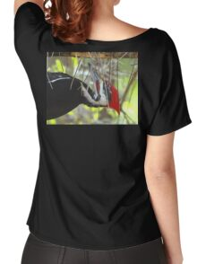 Pileated Woodpecker Women's Relaxed Fit T-Shirt