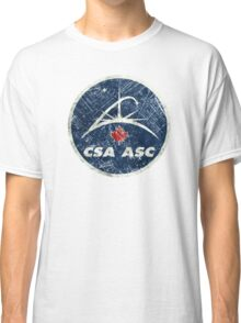 Vintage Emblem Canadian Space Agency Classic T-Shirt