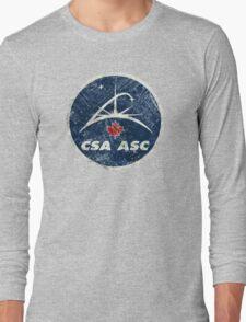 Vintage Emblem Canadian Space Agency Long Sleeve T-Shirt