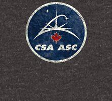 Vintage Emblem Canadian Space Agency Unisex T-Shirt