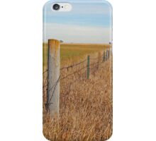 The Fence Row iPhone Case/Skin