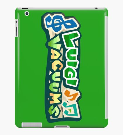 The Luigi Vacuum's iPad Case/Skin