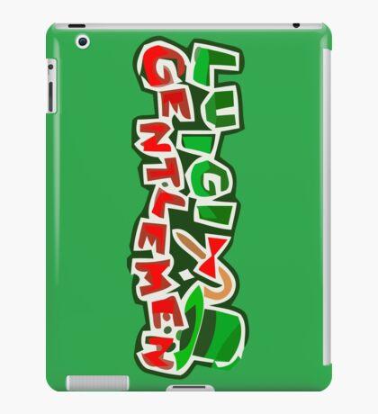 The Luigi Gentlemen iPad Case/Skin