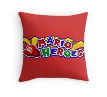 The Mario Heroes Throw Pillow