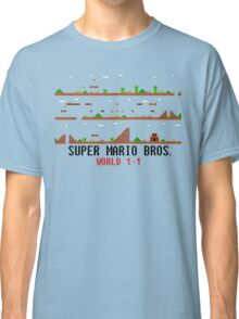 Super Mario Bros. World 1-1 Classic T-Shirt
