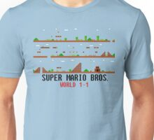 Super Mario Bros. World 1-1 Unisex T-Shirt