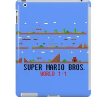 Super Mario Bros. World 1-1 iPad Case/Skin