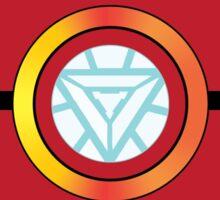 Stark Tech Pokeball Sticker