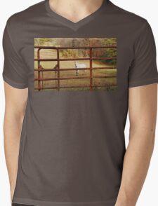 Don't Fence Me In Mens V-Neck T-Shirt